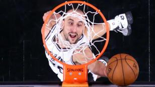 Manu Ginobili, 20 ans de carrière chez les San Antonio Spurs.