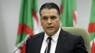 Le président de l'Assemblée populaire nationale, Moad Bouchareb, lors d'un discours le 24 octobre 2018, à Alger