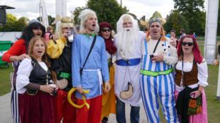 Les supporters du XV de France ont fait le déplacement en masse à Twickenham