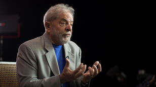 Fotografía de archivo del 22 de noviembre de 2019 del expresidente brasileño Luiz Inácio Lula da Silva habla en entrevista con Efe en Sao Paulo (Brasil).