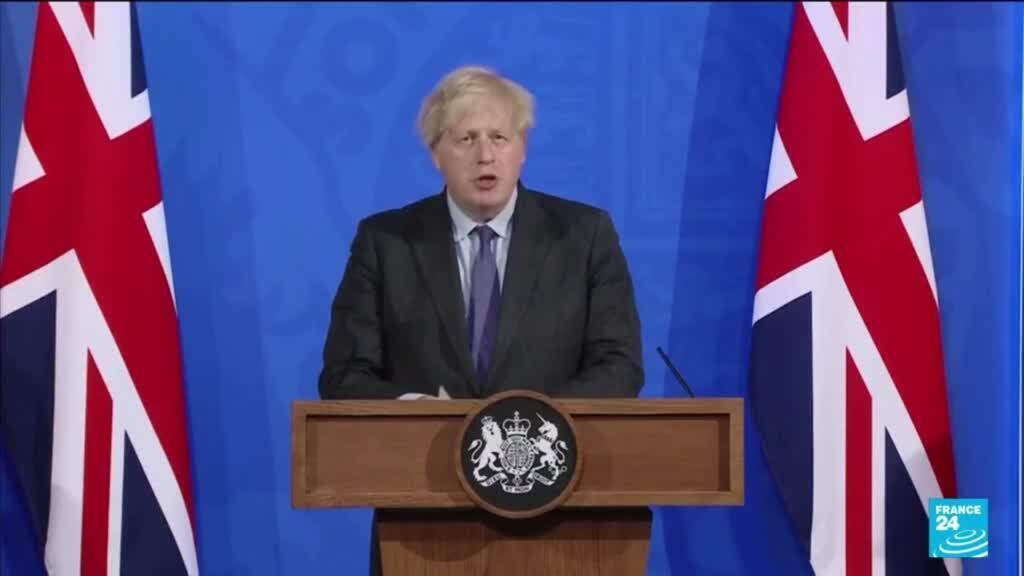 2021-06-15 10:13 UK PM Johnson delays England lockdown easing by 4 weeks