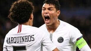 Thiago Silva was robbed during PSG's match against Nantes on Saturday night