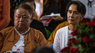 Win Htein is a trusted confidant of Myanmar's deposed de facto leader Aung San Suu Kyi