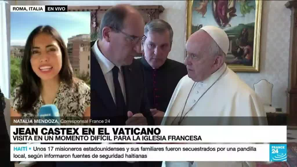 2021-10-18 14:11 Informe desde Roma: Jean Castex visita al papa Francisco en el Vaticano