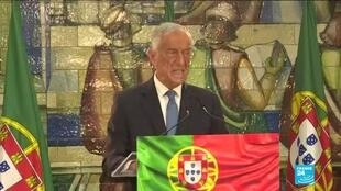 2021-01-25 12:08 Portugal's President Marcelo Rebelo de Sousa re-elected, as health system collapses over Covid-19