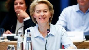الرئيسة المقبلة للمفوضية الأوروبية أورسولا فون دير لايين.