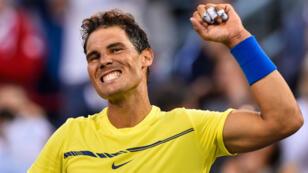 Rafael Nadal, nouveau numéro un mondial à l'ATP.