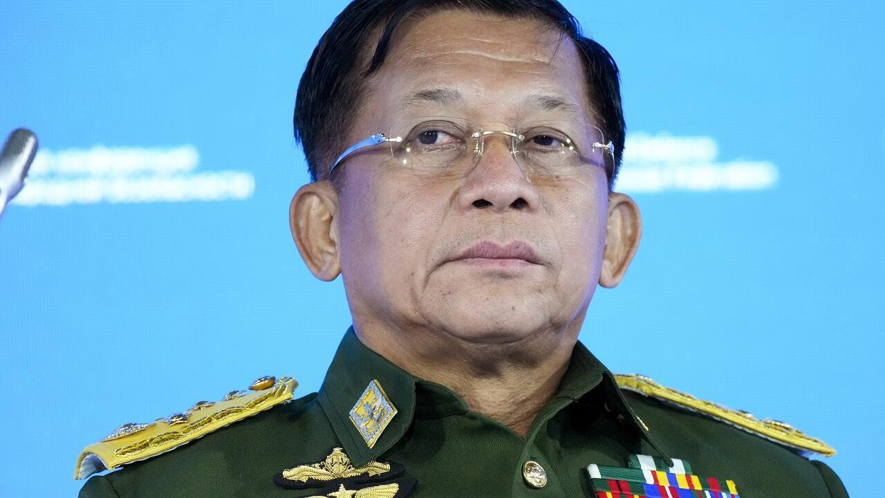 PHOTO Min Aung Hlaing - 23 juin 2021