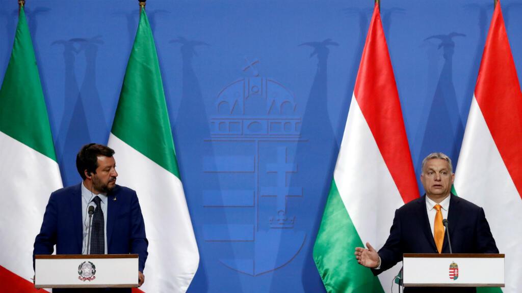 El ministro del Interior italiano, Matteo Salvini, y el primer ministro de Hungría, Viktor Orban,se reunieron en Budapest el pasado 2 de mayo para discutir las coaliciones europeas