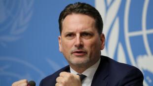 Pierre Krähenbühl, le 29 janvier 2019, à Genève.