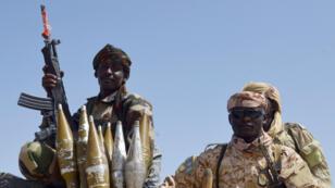 Des militaires tchadiens, photographiés le 25 mai 2015 au Nigéria (archives).