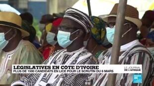Elections législatives en Côte d'Ivoire : une campagne sans heurts