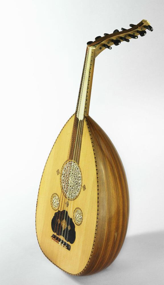 Oud conçu par Georges Nahat 1931 (Damas, Syrie) Musée de la musique Cité de la musique - Philharmonie de Paris  Jean-Marc Anglès