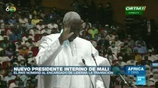 África 7 días - presidente Mali