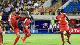 مستوى رديء في مباراة بنين أمام غينيا بيساو. 29 يونيو/حزيران 2019.