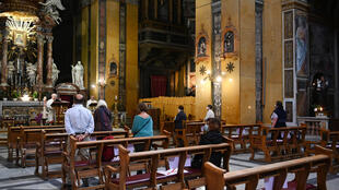 Italy's Catholics have been deprived of mass for more than two-months because the government measures imposed to fight the spread of the coronavirus