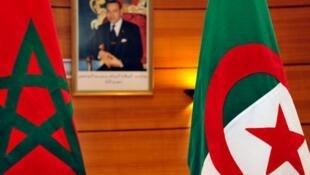 """اجتماع """"اتحاد المغرب العربي"""" في الرباط، في شباط/فبراير 2012."""