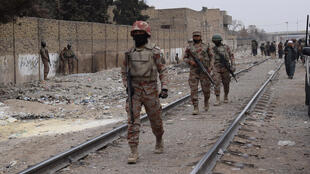 Thousands of paramilitary troops carry out security checks and help police in maintaining law and order in restive parts of Pakistan such as Balochistan