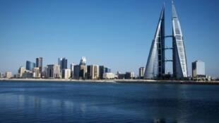 صورة التقطت في 2016 للمنامة، عاصمة البحرين