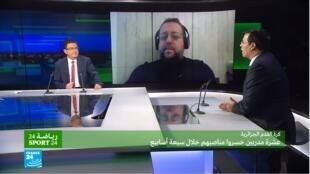 رياضة24 الجزائر كرة القدم إقالة مدرب
