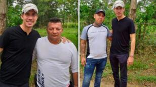 Aunque se desconoce la fecha, la fotografía de Juan Guaidó al lado de dos paramilitares colombianos le ha dado la vuelta a la región.