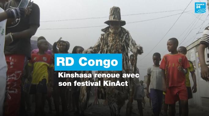 RDC : Kinshasa renoue avec son festival KinAct
