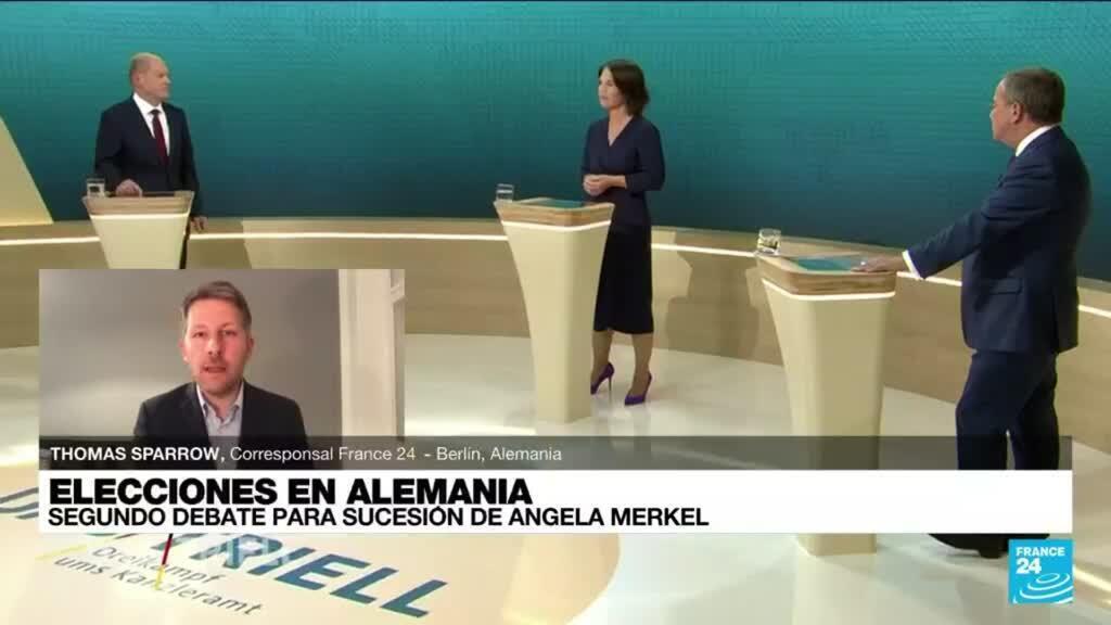 2021-09-13 01:01 Informe desde Berlín: así fue el segundo debate de candidatos a la cancillería de Alemania