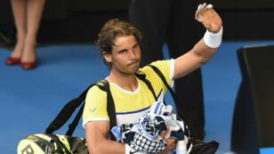 Rafael Nadal, éliminé au 1er tour de l'Open d'Australie.