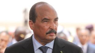 Foto de archivo del presidente de Mauritania, Mohamed Ould Abdel Aziz, tomada el 2 de julio de 2018.