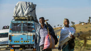 La paix et la réouverture des frontières terrestres en septembre ont intensifié un exode des Érythréens vers l'Éthiopie.