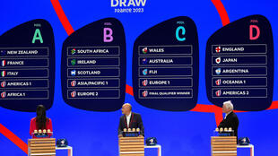 RUGBY WORLD CUP FRANCE DRAW