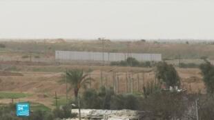 مصر تبدأ تشييد جدار إسمنتي على حدودها مع قطاع غزة