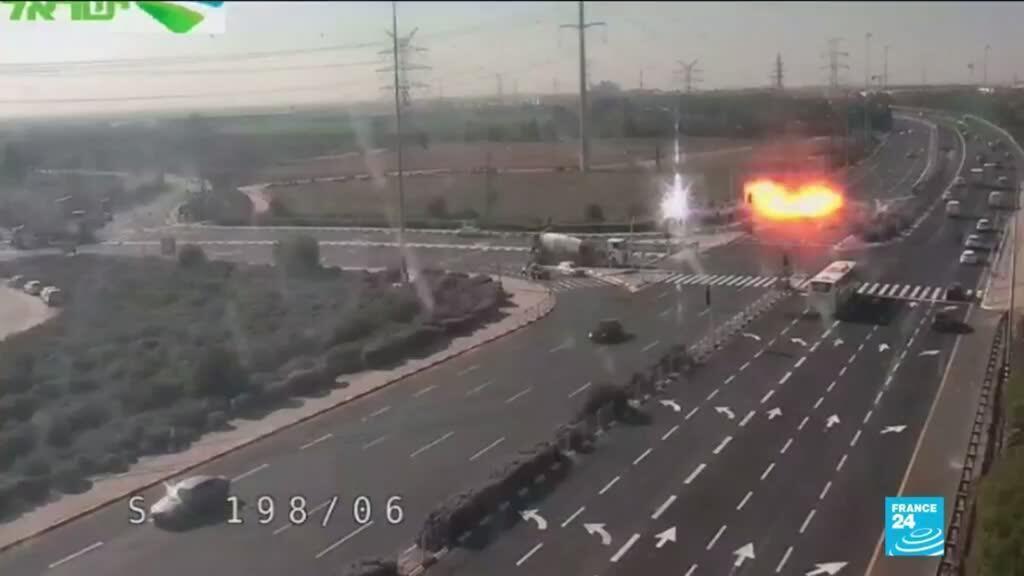 2019-11-12 16:04 Rockets fired at Israel in retaliation for death of senior militant commander in Gaza