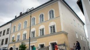 المنزل الذي ولد فيه أدولف هتلر في النمسا 17 أبريل 2016