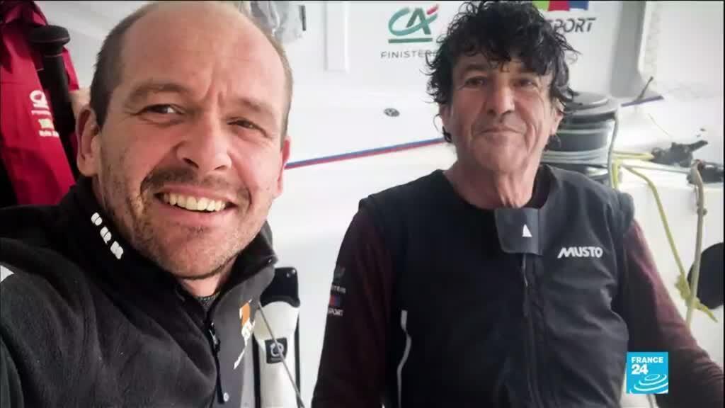 2021-01-29 10:14 Vendée Globe : le héros Jean Le Cam a franchi la ligne d'arrivée