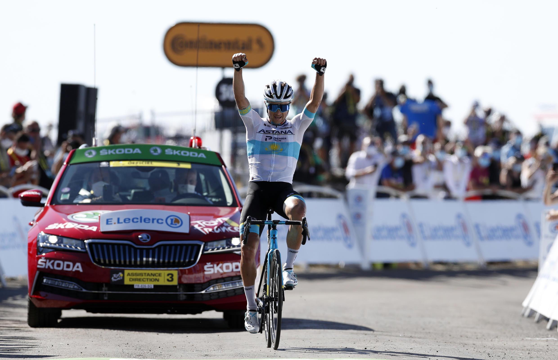 Alexey Lutsenko Kazakhstan tour de france