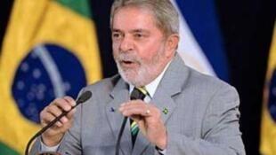 الرئيس البرازيلي السابق لولا دا سيلفا