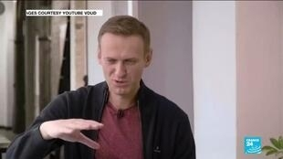2020-10-06 11:04 Navalny makes first video appearance since coma, says health much improved