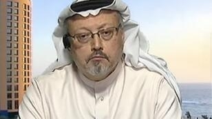 صورة مقتطفة من الشاشة / الصحافي السعودي جمال خاشقجي على قناة فرانس24 في 2016