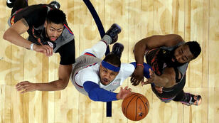 Les stars de la conférence Ouest ont remporté le All Star Game de la NBA par 192 à 182.