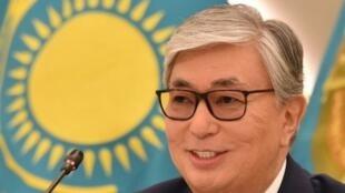 الرئيس الكازاخستاني المنتخب قاسم جومارت توكاييف. 10 يونيو/حزيران 2019.
