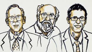 John Goodenough, Stanley Whittingham y Akira Yoshino.