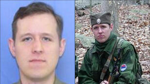 An FBI handout of Eric Frein, suspected of killing a Pennsylvania state trooper and leaving another seriously injured in an ambush on September 12, 2014