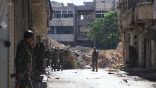 قوات النظام حققت تقدما ميدانيا في شمال ووسط حلب بدعم جوي من الطائرات الروسية.