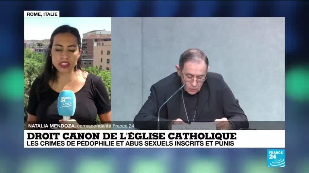2021-06-01 17:08 Le Vatican inscrit explicitement la pédocriminalité dans le droit de l'Eglise
