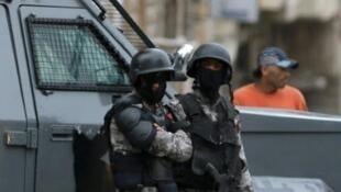 عناصر من الشرطة الأردنية