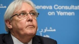مبعوث الأمم المتحدة الخاص إلى اليمن مارتن غريفيث