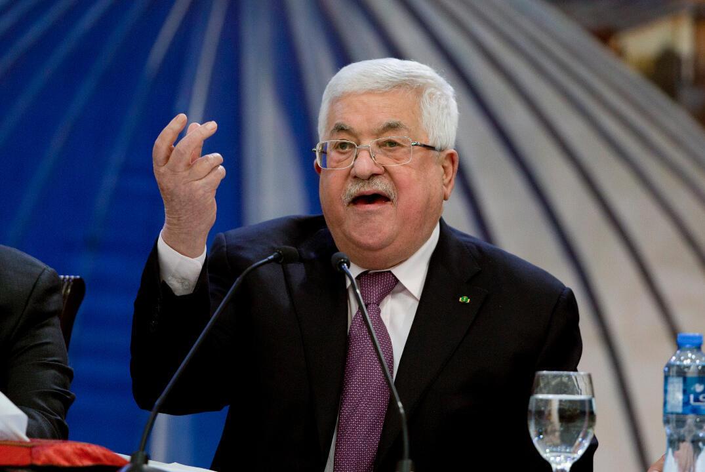 Palestinian President Mahmoud Abbas met with Israeli Defence Minister Benny Gantz