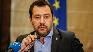 The report singled out the League's deputy prime minister and Interior Minister Matteo Salvini for blame