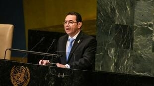 Guatemalan President Jimmy Morales said in August 2018 he would not ask the UN to renew the mandate of the International Commission against Impunity in Guatemala after it twice asked for his presidential impunity to be lifted for investigations